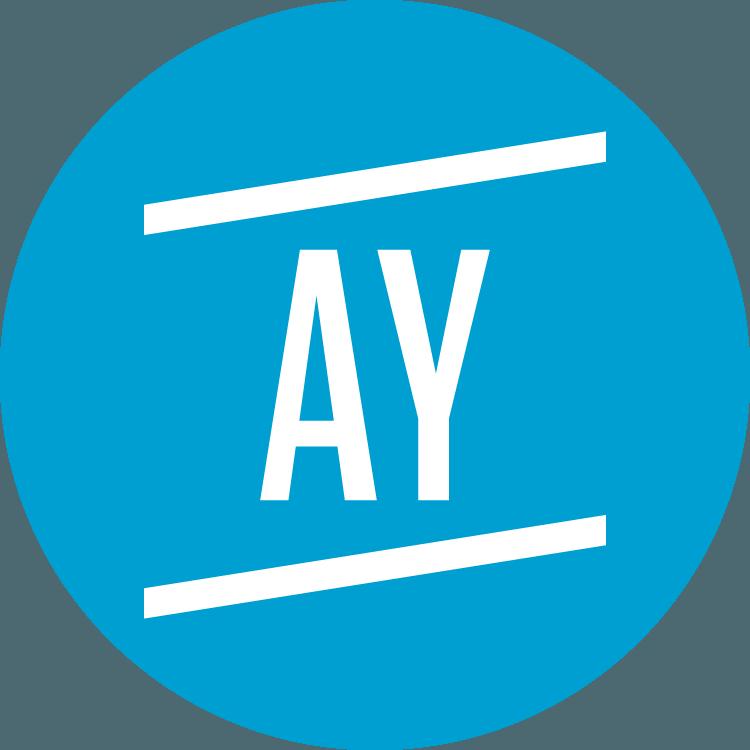 Academy Young – Badge – Blu